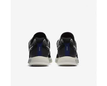 NikeLab Gyakusou LunarEpic Low Flyknit 2 Mens Shoes Black/Blue Fox/Blue Fox/Sail Style: 880283-001