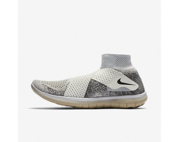 NikeLab Free RN Motion Flyknit 2017 Mens Shoes Sail/Black/Mushroom/Black Style: 883291-100