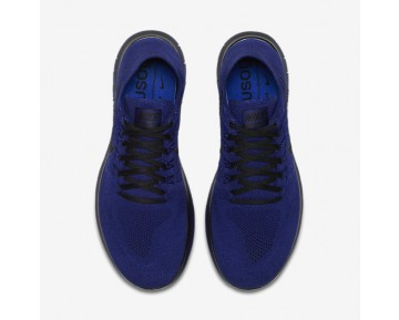 NikeLab Gyakusou Free RN Flyknit 2017 Mens Shoes Deep Royal Blue/Deep Royal Blue/Black Style: 883287-400