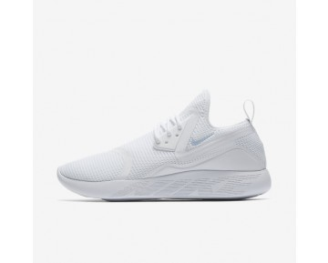 Nike LunarCharge Breathe Womens Shoes White/White/Light Armoury Blue Style: 942060-100