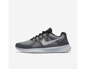 Nike Free RN 2017 Womens Shoes Wolf Grey/Pure Platinum/Black/Off-White Style: 880840-002