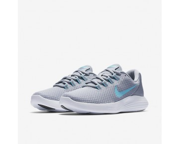 Nike LunarConverge Womens Shoes Wolf Grey/Stealth/Black/Polarised Blue Style: 852469-007
