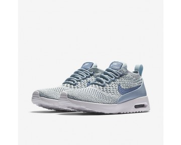 Nike Air Max Thea Flyknit Womens Shoes Light Armoury Blue/White/Glacier Blue/Work Blue Style: 881175-401