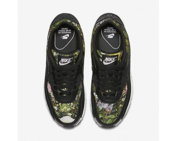 Nike Air Max 90 SE Womens Shoes Black/Prism Pink/Summit White/Black Style: 881105-001
