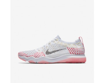 Nike Zoom Fearless Flyknit Womens Shoes White/Racer Pink/Melon Tint/Wolf Grey Style: 850426-102
