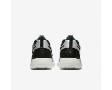 Nike Roshe One LX Womens Shoes Metallic Silver/Mica Blue/Ivory/Black Style: 881202-002