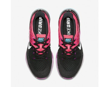 Nike Metcon DSX Flyknit Womens Shoes Black/Racer Pink/Hyper Violet/White Style: 849809-006