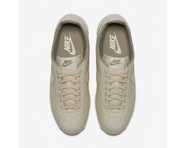 Nike Classic Cortez Leather Lux Womens Shoes Oatmeal/Sail/Gum Medium Brown/Oatmeal Style: 861660-100