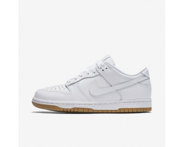 Nike Dunk Low Womens Shoes White/Pure Platinum/Gum Light Brown/White Style: 311369-100