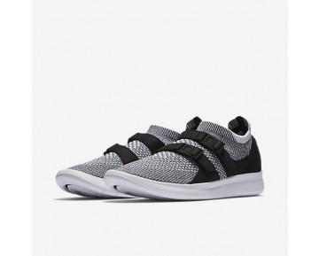 Nike Air Sock Racer Ultra Flyknit Womens Shoes Black/White/White Style: 896447-002