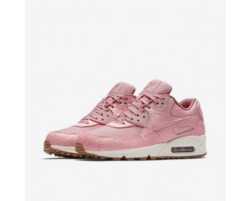 Nike Air Max 90 Premium Womens Shoes Pink Glaze/Sail/Red Stardust/Pearl Pink Style: 896497-600