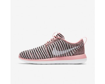 Nike Roshe Two Flyknit Womens Shoes Bright Melon/Black/White Style: 844929-801
