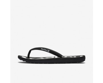 Hurley One And Only Printed Womens Shoes Black Style: HUR026-001