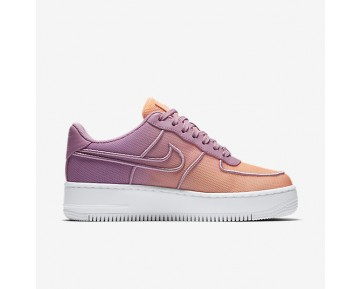 Nike Air Force 1 Low Upstep BR Womens Shoes Orchid/Sunset Glow/Glacier Blue/White Style: 833123-500