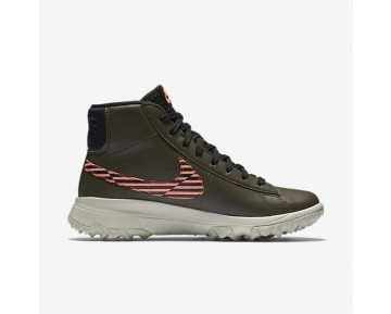 Nike Blazer Womens Shoes Cargo Khaki/Lava Glow/Light Bone/Black Style: 818730-300