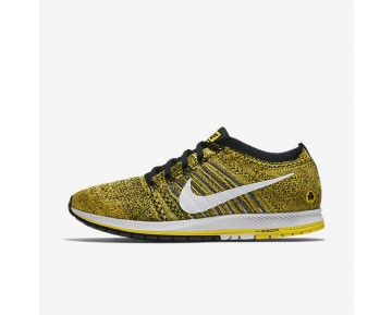 Nike Zoom Flyknit Streak (Boston) Unisex Shoes Yellow Strike/Black/White Style: 883299-701