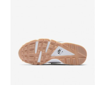 Nike Air Huarache SE Womens Shoes Dark Grey/Gum Yellow/White/Dark Grey Style: 859429-006