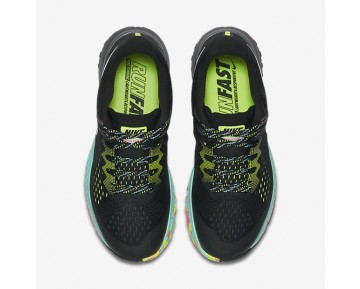 Nike Air Zoom Terra Kiger 4 Womens Shoes Black/Volt/Hyper Turquoise/White Style: 880564-001