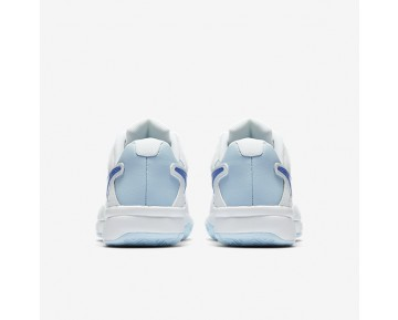 NikeCourt Air Vapor Advantage Womens Shoes White/Ice Blue/Comet Blue Style: 599364-109