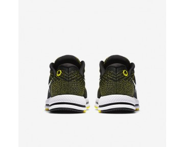 Nike Air Zoom Vomero 12 (Boston) Womens Shoes Black/Yellow Strike/White Style: 883281-007