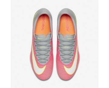 Nike Mercurial Vapor XI FG Womens Shoes Hyper Pink/Wolf Grey/Tart/White Style: 844235-610