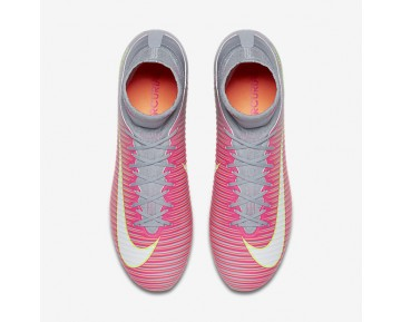 Nike Mercurial Veloce III Dynamic Fit FG Womens Shoes Hyper Pink/Wolf Grey/Tart/White Style: 897800-610