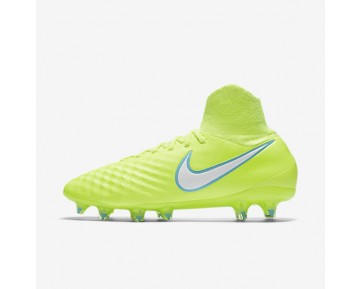 Nike Magista Orden II FG Womens Shoes Volt/Barely Volt/White Style: 844223-717