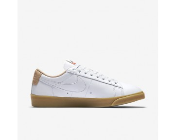Nike Blazer Premium Low Womens Shoes White/Vachetta Tan/Gum Light Brown/White Style: 454471-101