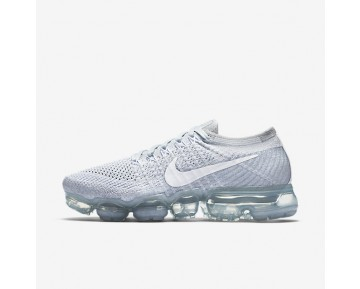 Nike Air VaporMax Flyknit Womens Shoes Pure Platinum/Wolf Grey/White Style: 849557-004