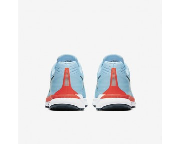 Nike Air Zoom Pegasus 34 Womens Shoes Ice Blue/Bright Crimson/White/Blue Fox Style: 880560-404