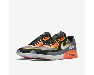 Nike Air Max 90 Ultra 2.0 SI Womens Shoes Cool Grey/Black/Total Crimson/Light Bone Style: 881108-001