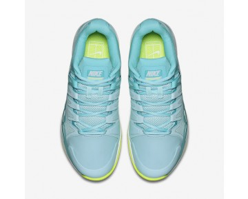 NikeCourt Zoom Vapor 9.5 Tour Clay Womens Shoes Polarised Blue/Still Blue/Volt/White Style: 649087-401