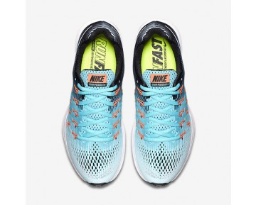 Nike Air Zoom Pegasus 33 Womens Shoes Glacier Blue/Polarised Blue/Black/White Style: 831356-405