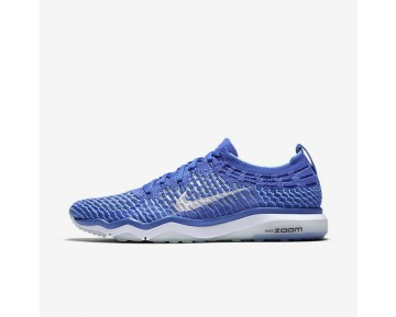 Nike Zoom Fearless Flyknit Womens Shoes Medium Blue/Polarised Blue/White Style: 850426-400