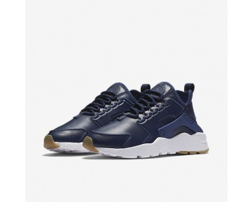 Nike Air Huarache Ultra SI Womens Shoes Binary Blue/White/Gum Light Brown/Binary Blue Style: 881100-400