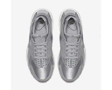 Nike Air Huarache Premium Womens Shoes Wolf Grey/Sail/Gum Medium Brown/Wolf Grey Style: 683818-012