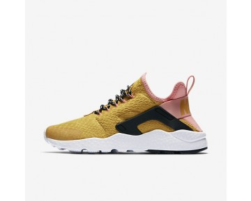 Nike Air Huarache Ultra SE Womens Shoes Gold Dart/Bright Melon/Black/Gold Dart Style: 859516-700