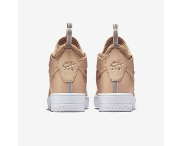 Nike Air Force 1 UltraForce Mid Womens Shoes Vachetta Tan/White/Vachetta Tan Style: 864025-200