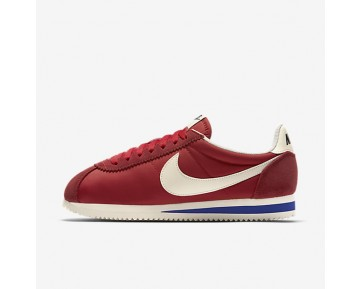 Nike Classic Cortez Nylon Premium Womens Shoes University Red/Old Royal/Sail Style: 882258-600