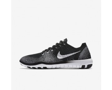 Nike Free Focus Flyknit 2 Womens Shoes Black/White Style: 880630-001