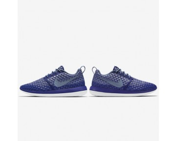 Nike Roshe Two Flyknit 365 Womens Shoes Deep Royal Blue/Wolf Grey/White/Ocean Fog Style: 861706-400