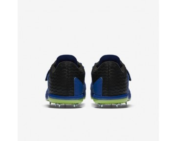 Nike High Jump Elite Womens Shoes Hyper Cobalt/Black/Ghost Green/White Style: 806561-413