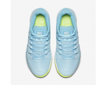 NikeCourt Zoom Vapor 9.5 Tour Womens Shoes Polarised Blue/Still Blue/Volt/White Style: 631475-400
