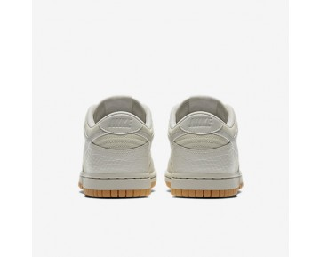 Nike Dunk Low Premium Womens Shoes Light Bone/Gum Yellow/White/Light Bone Style: 896188-002