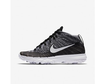Nike Flyknit Chukka Womens Shoes Black/White Style: 819006-001