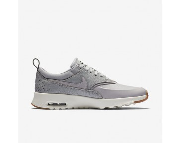 Nike Air Max Thea Premium Womens Shoes Wolf Grey/Sail/Midnight Fog/Wolf Grey Style: 616723-013