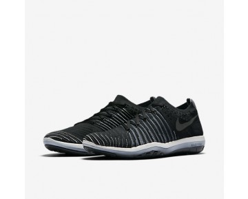 NikeLab Free Transform Flyknit Womens Shoes Black/Blue Fox/Pure Platinum/Black Style: 878552-001