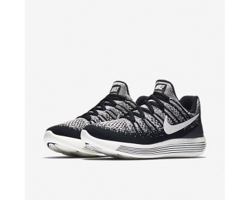NikeLab Gyakusou LunarEpic Low Flyknit 2 Womens Shoes Black/Blue Fox/Sail Style: 880287-001