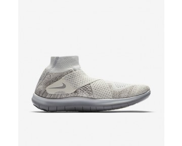 NikeLab Free RN Motion Flyknit 2017 Womens Shoes Sail/Dark Maple/Light Bone/Reflect Silver Style: 883292-100